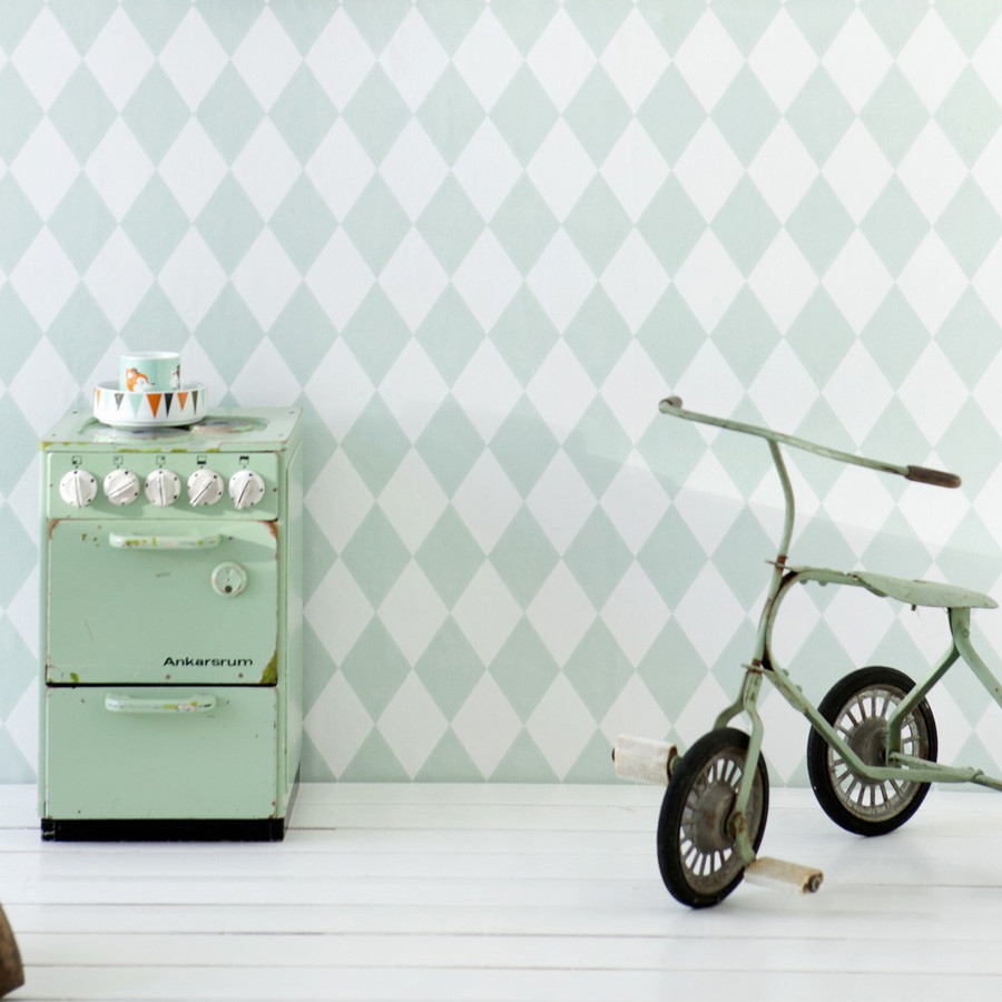Wallpaper_Harlequin_Mint_2